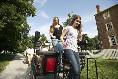 horses, wagon rides, tours